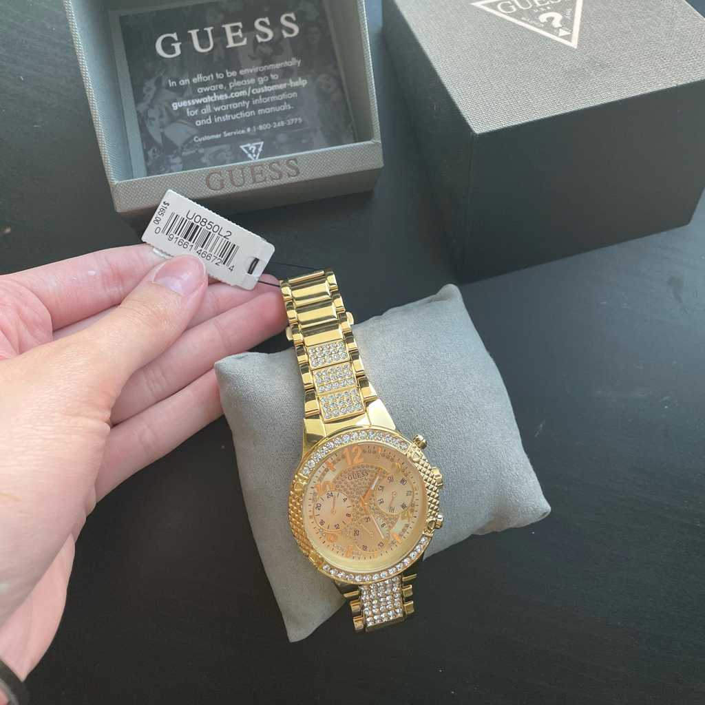 Brand New Guess Gold Watch