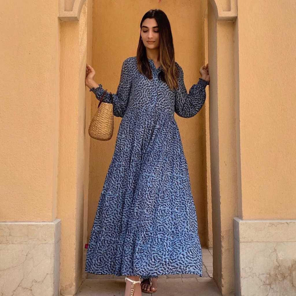 ZARA blue summer dress