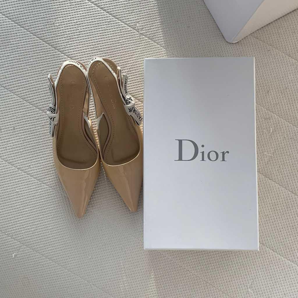Dior kitten heels size 37