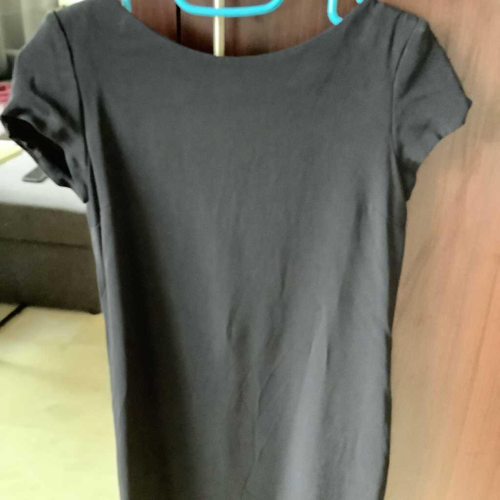 Massimo Dutti black classic dress