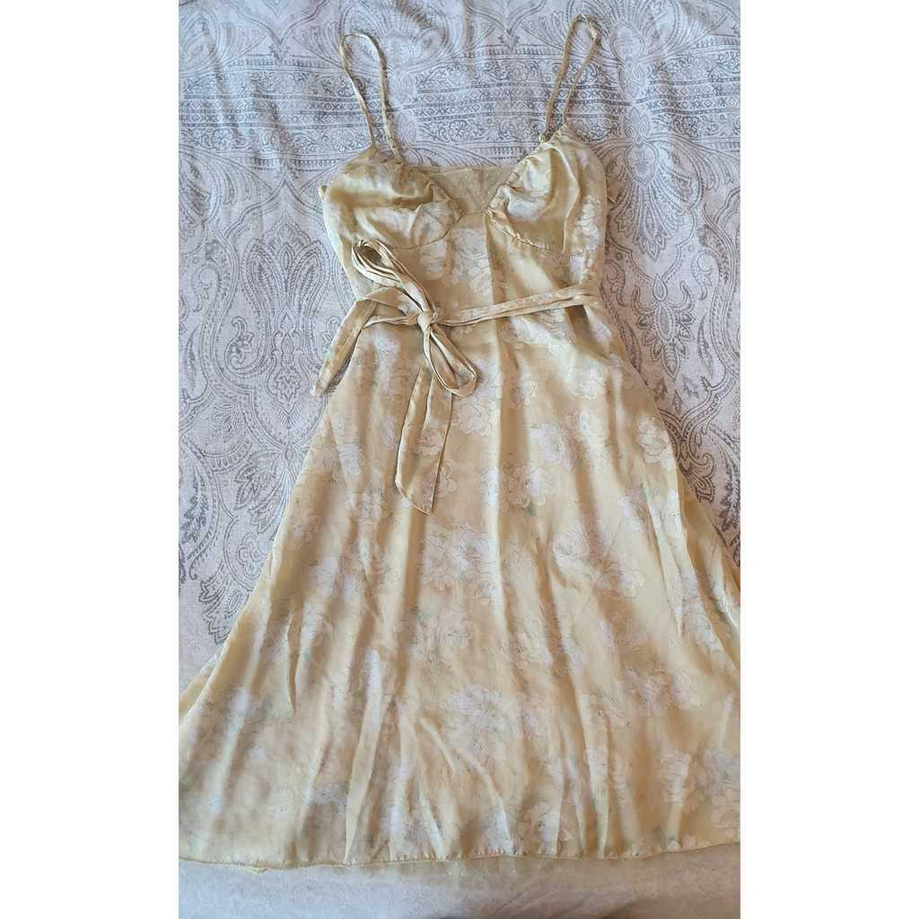 Free People Yellow Dress