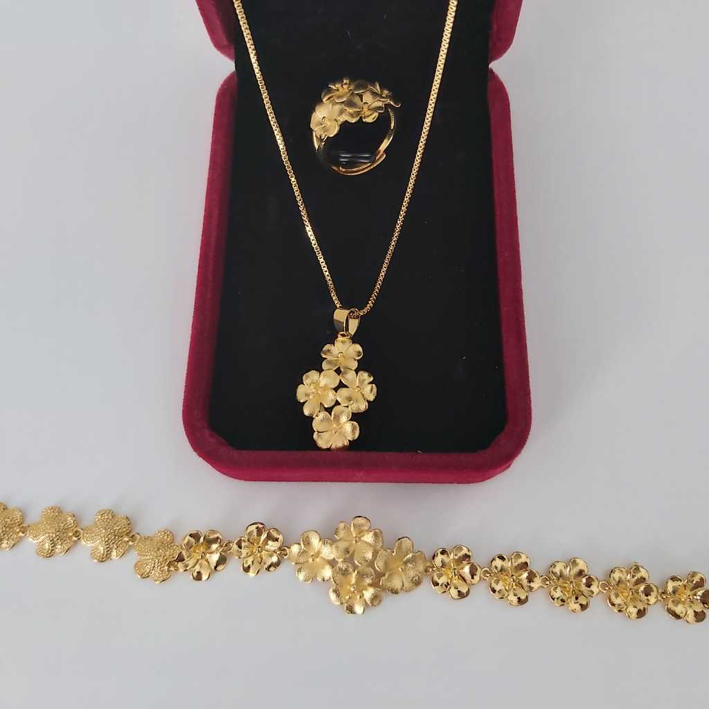 Gold plated set