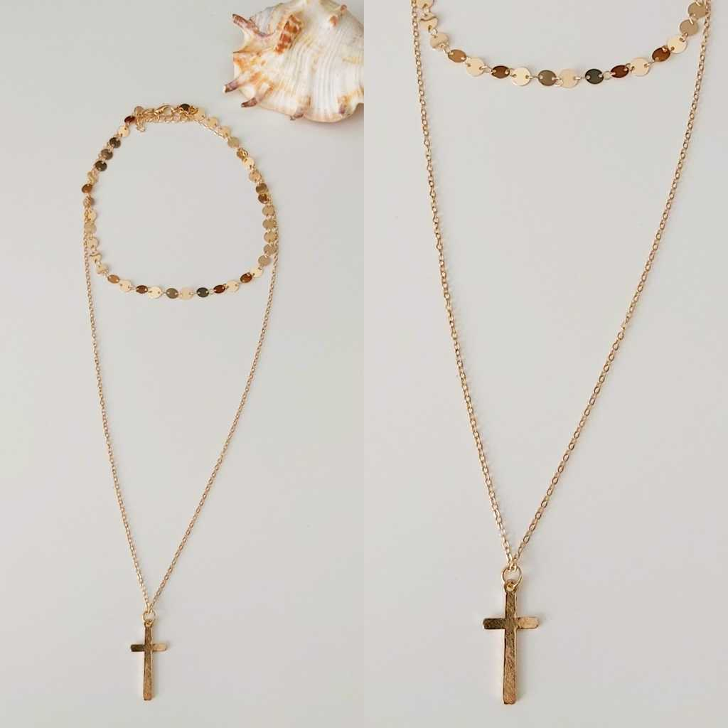 2 layers necklace