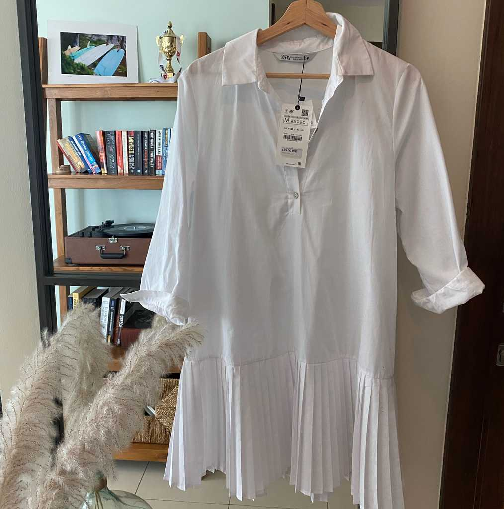 Brand new Zara Pleated Dress