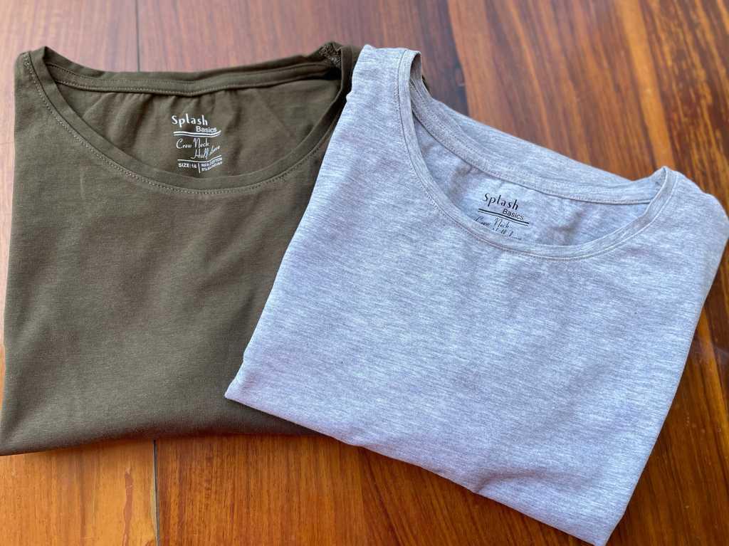 Splash basics tshirts