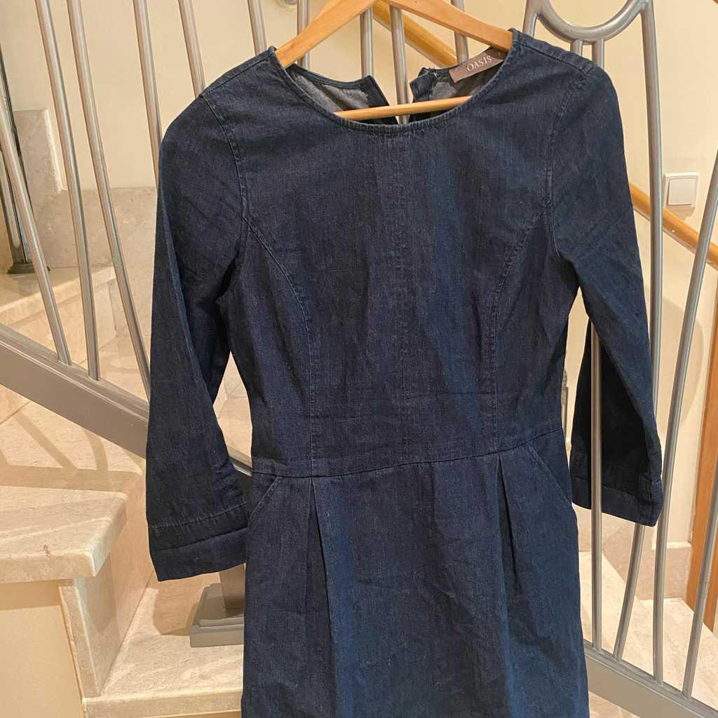 Oasis Mid Denim Dress