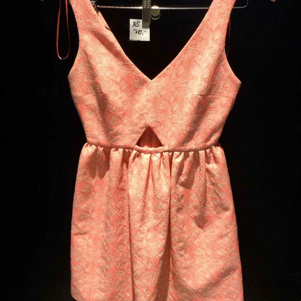 Mini Dress with Cut Outs XS