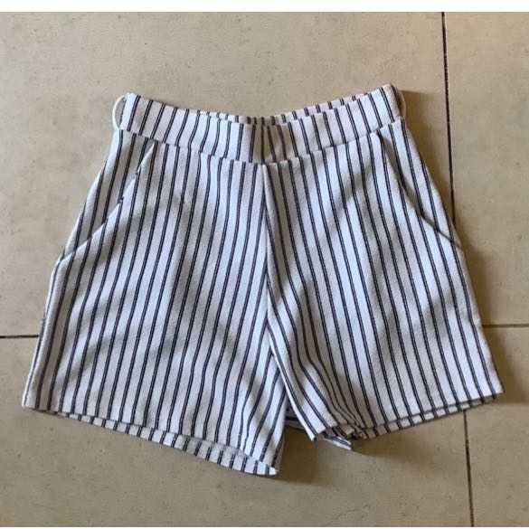 Striped Classic Casual Shorts
