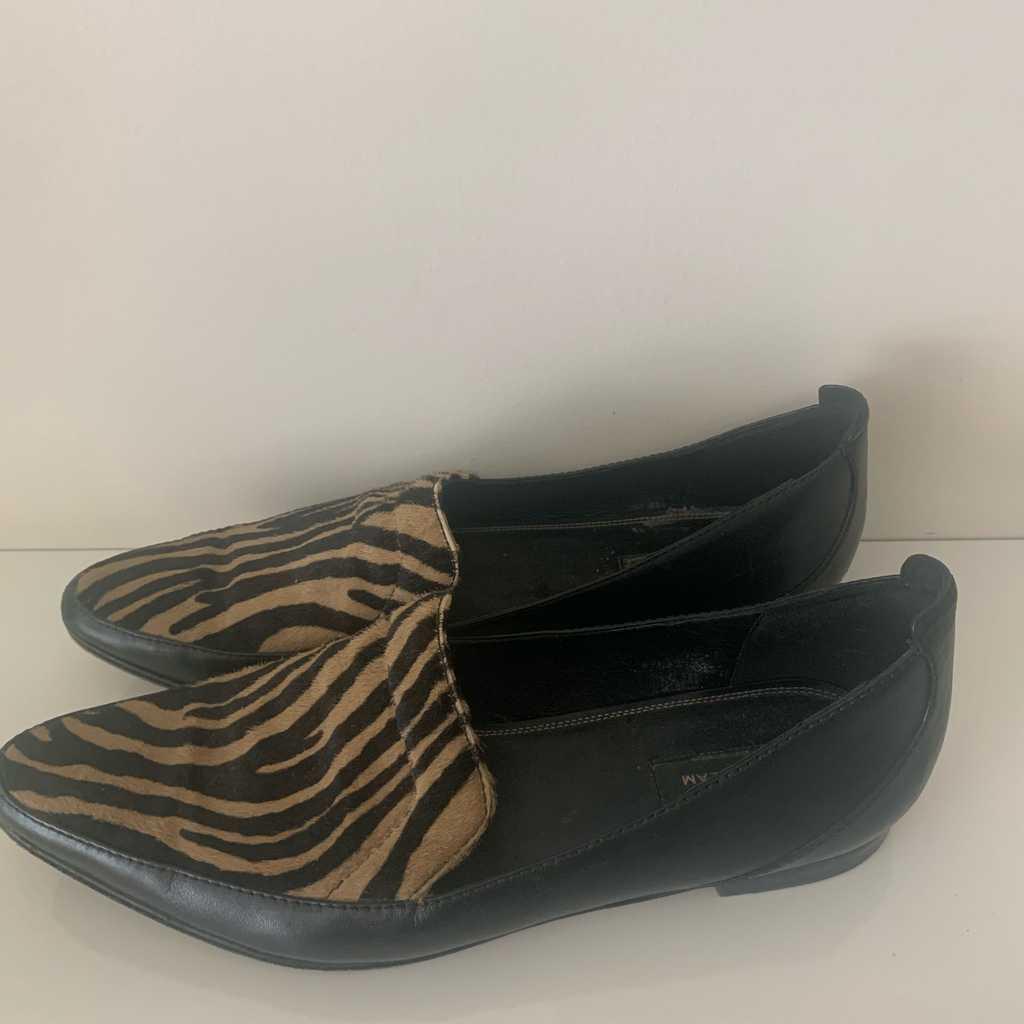 Derek Lam pony loafers