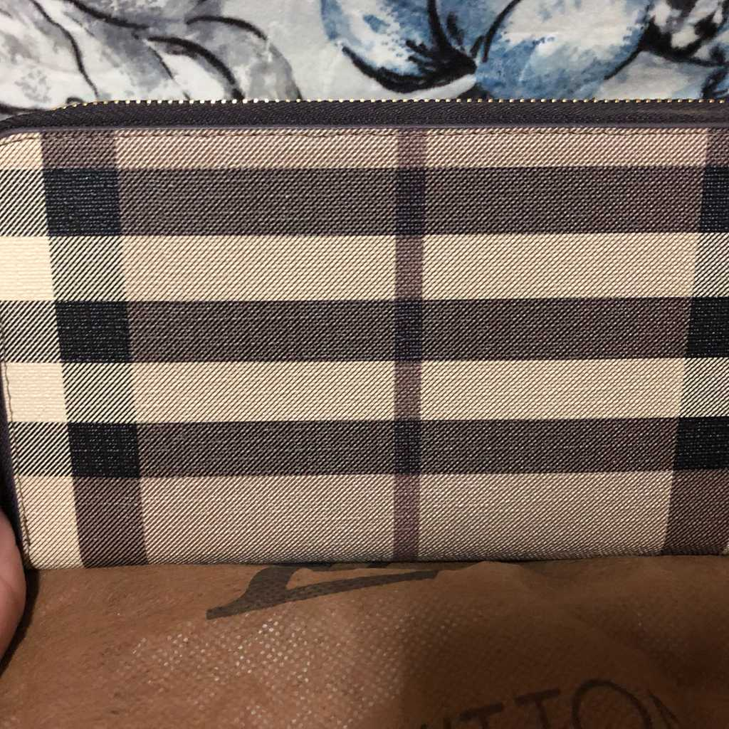 Inspired burberry wallet