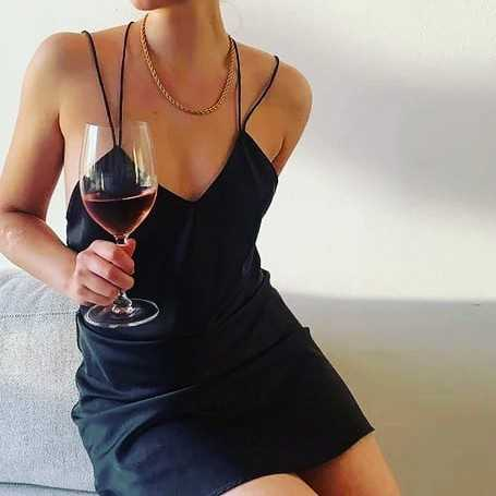 Party Satin Mini Dress