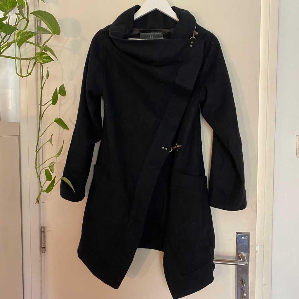 Black Felt Jacket - Bolongaro Trevor