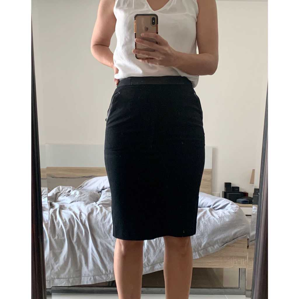Whistles office skirt worn once