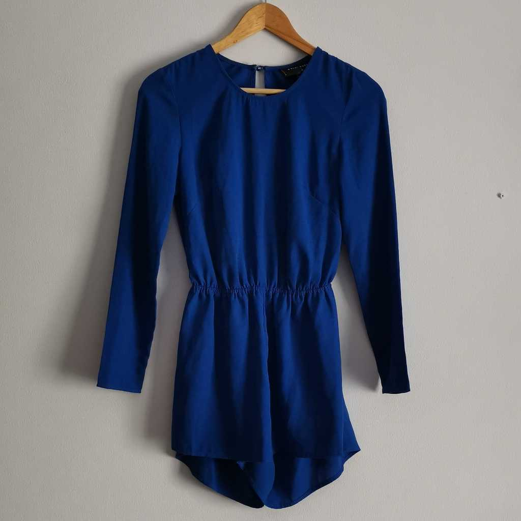 Royal Blue Playsuit