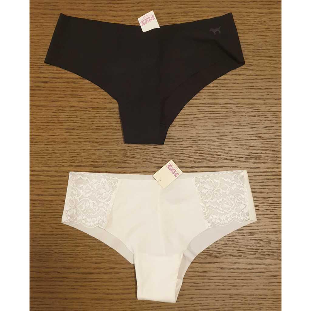 2 Brand New Victoria's Secret Pink panties size S