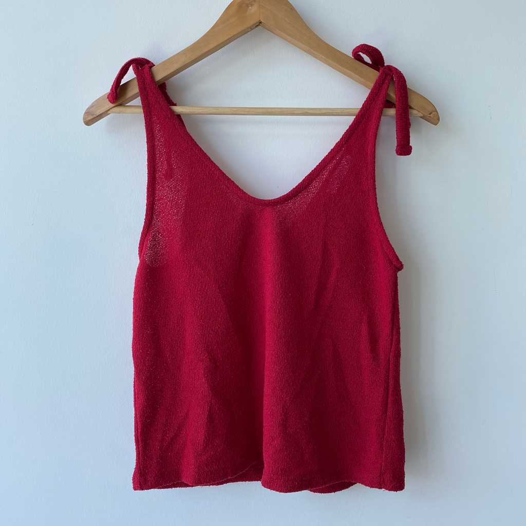 Mango red top size S