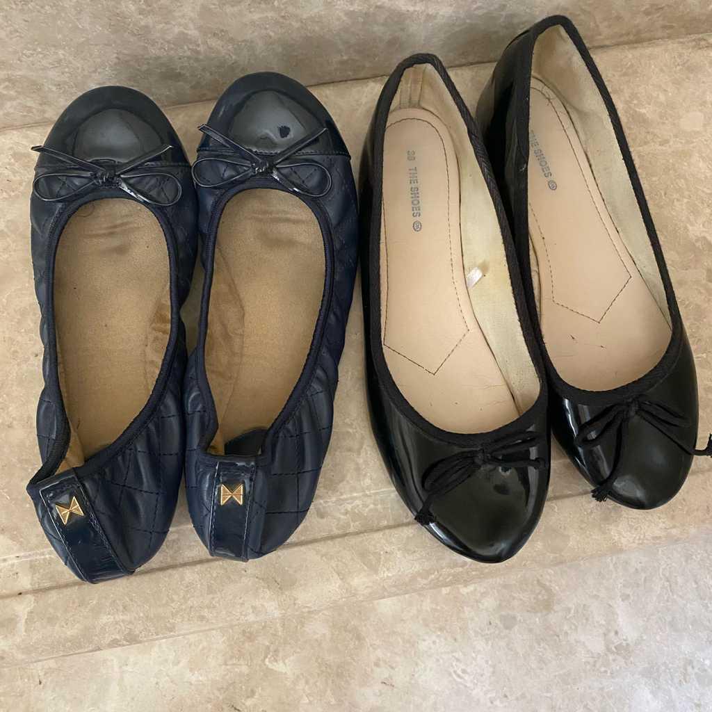 Flat shoes. Size 38
