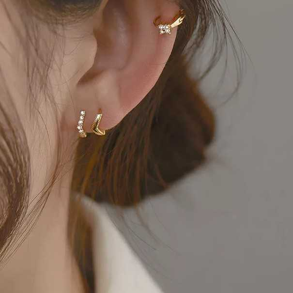NEW sterling silver 925, 3 pcs earrings