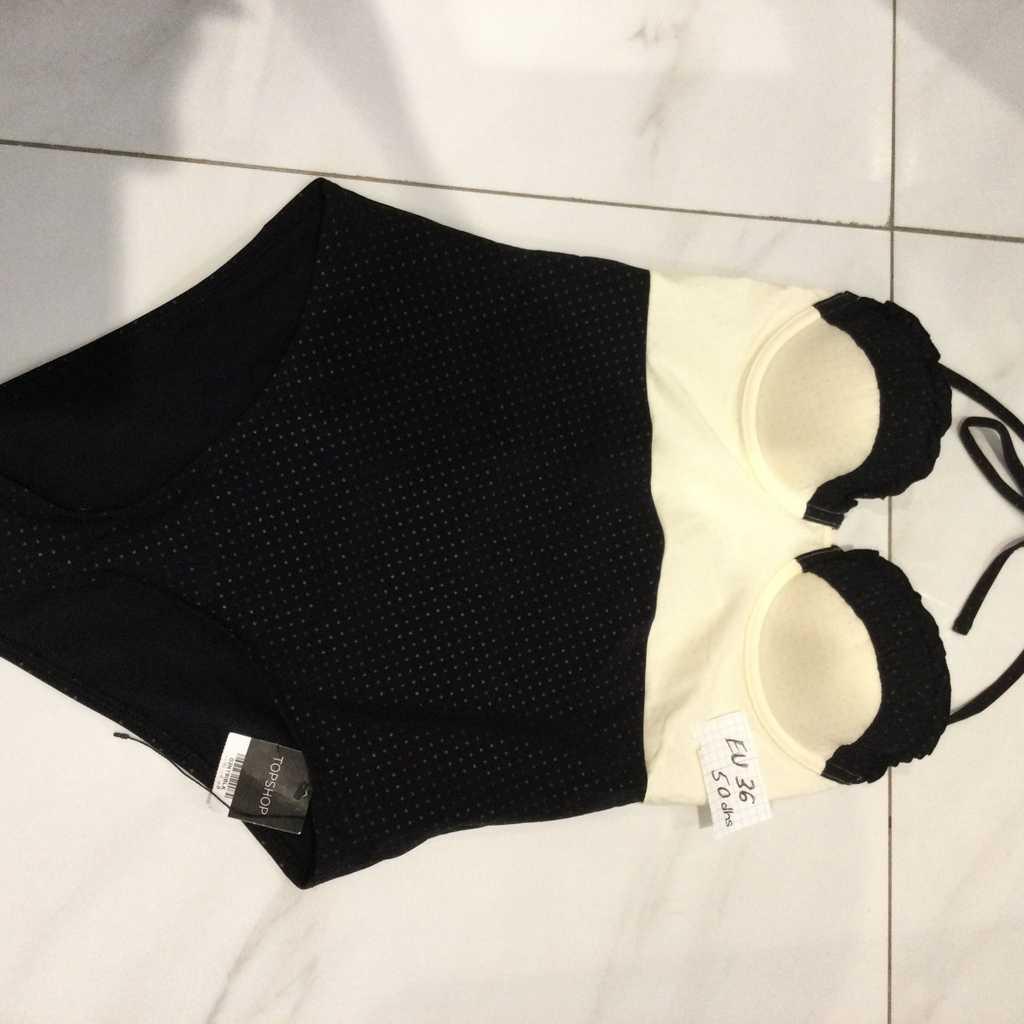Topshop Retro Swimsuit 36