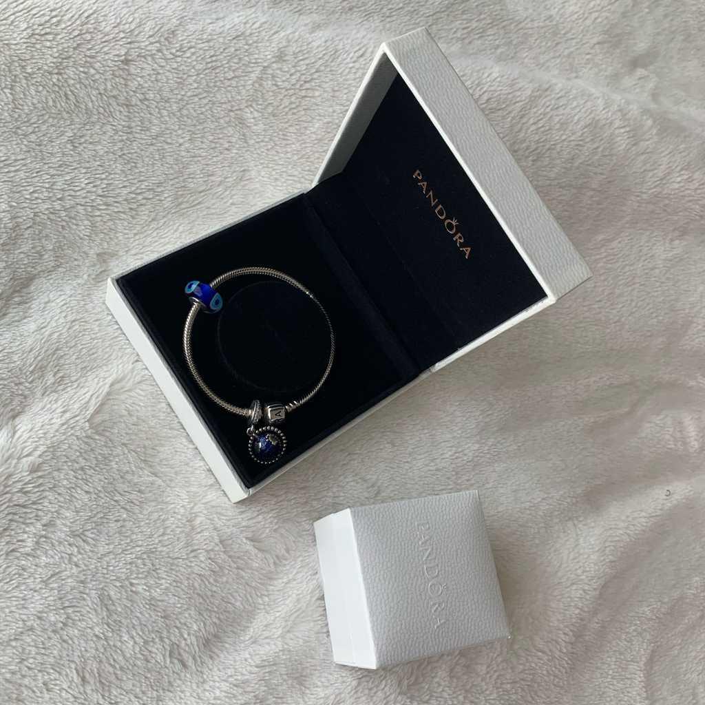 Original Pandora bracelet +2 charms
