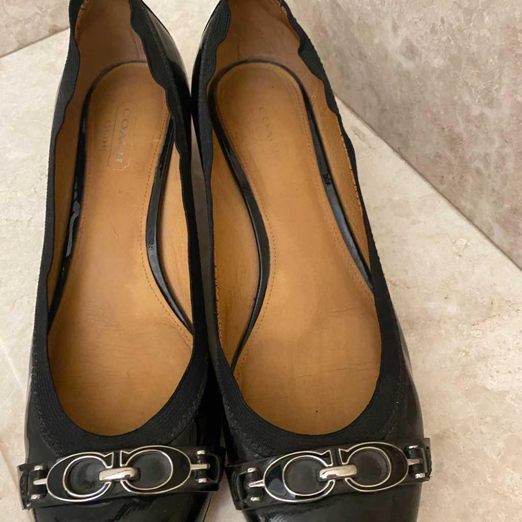 Coach shoes. Size 38.5