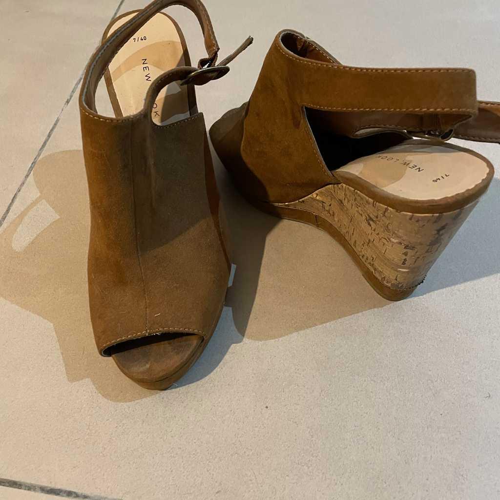 New look wedge heels