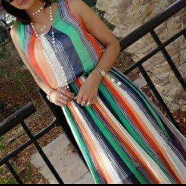 Long dress/ sleeveless