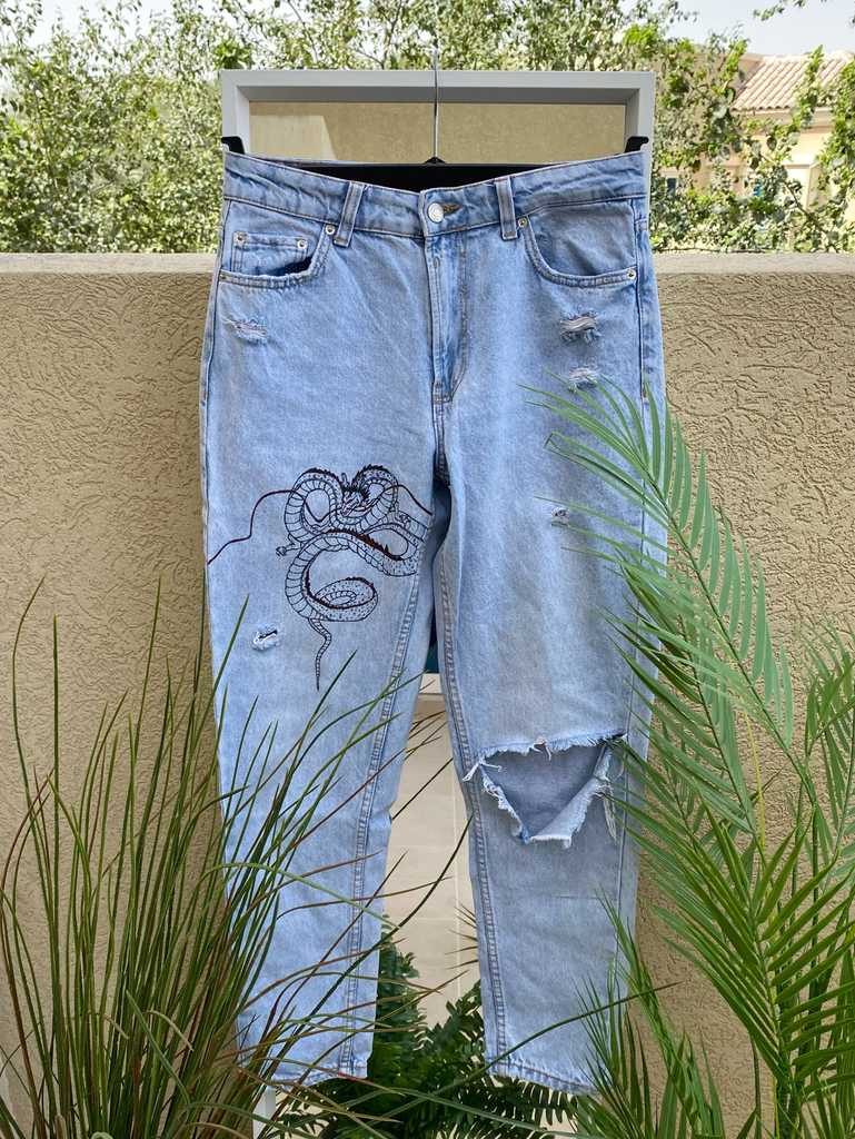 Asian Inspired Mum Jeans
