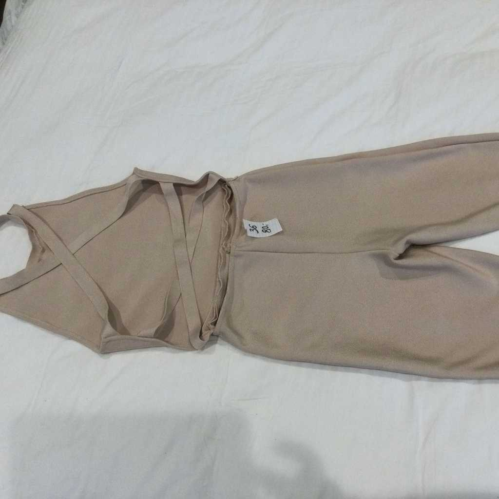 Jumpsuit Overall 36 Cut Outs