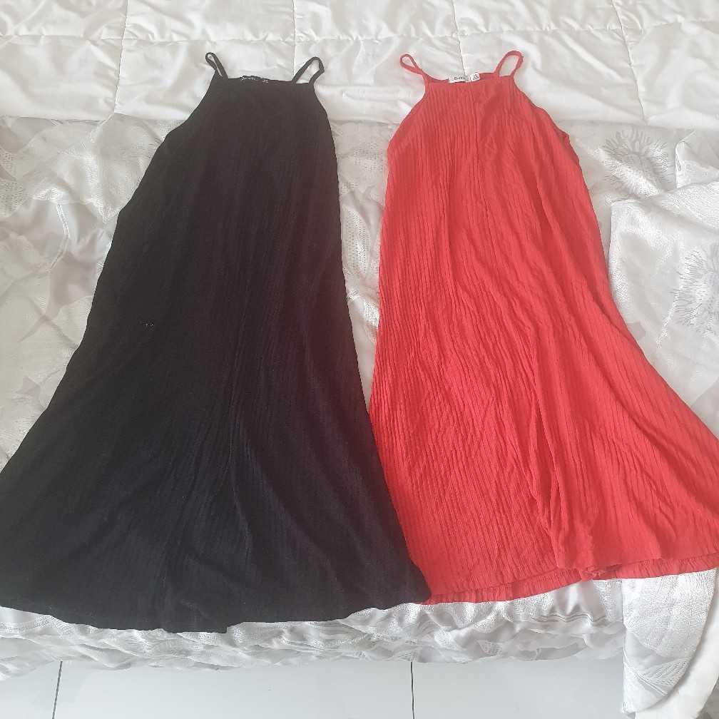 Two Bershka beach dresses XS