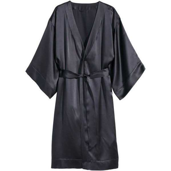 H&M Silky Dressing Gown