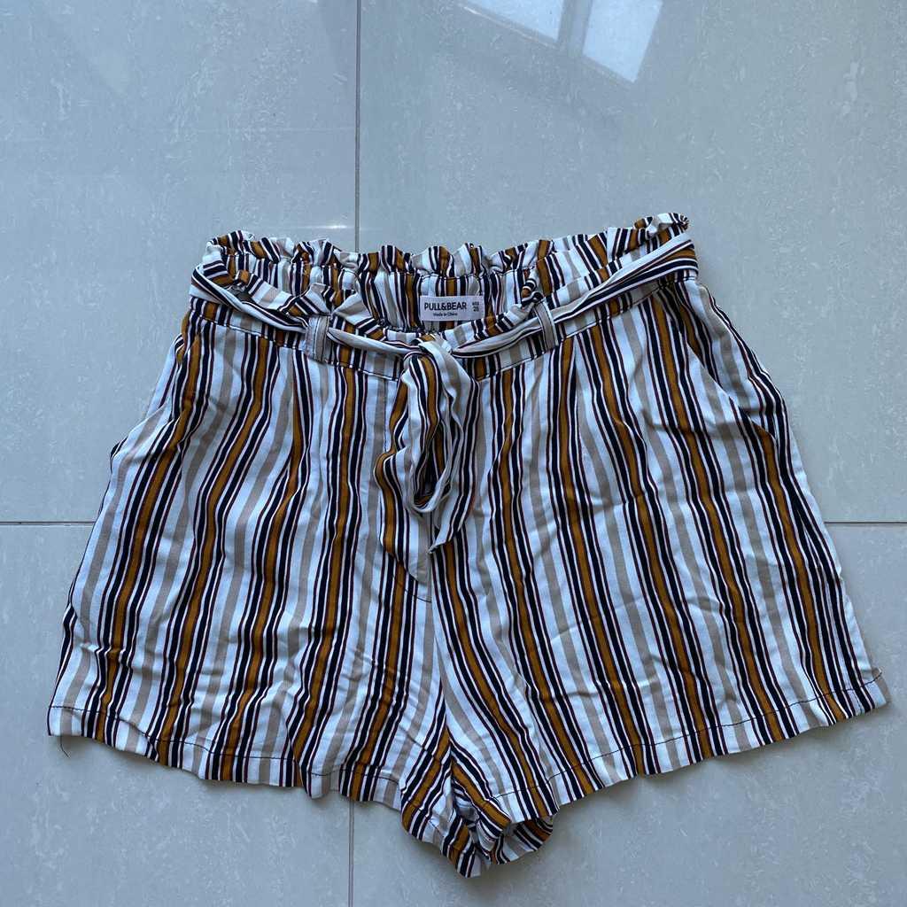 Pull & Bear high waist shorts