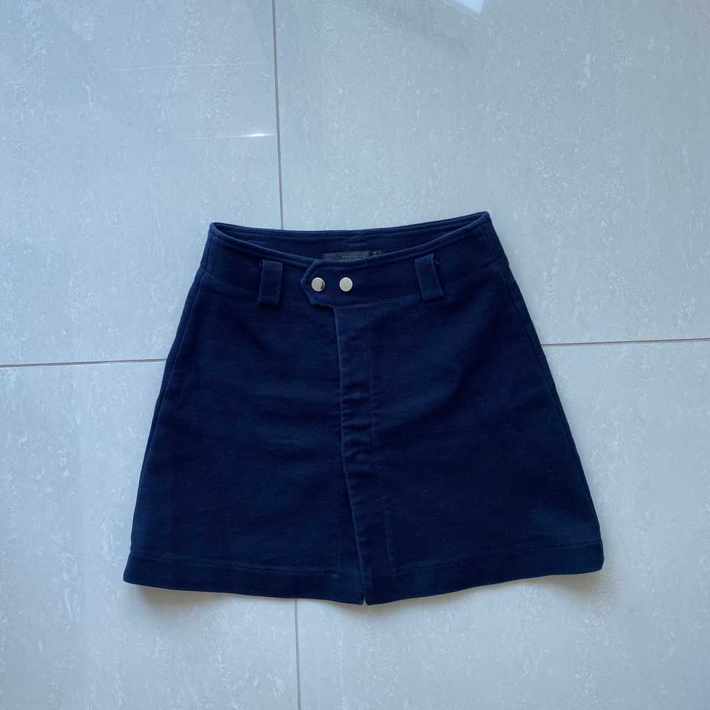 Zara Blue Mini Skirt, size S