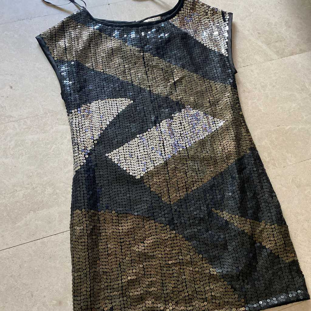 George mini sequin dress