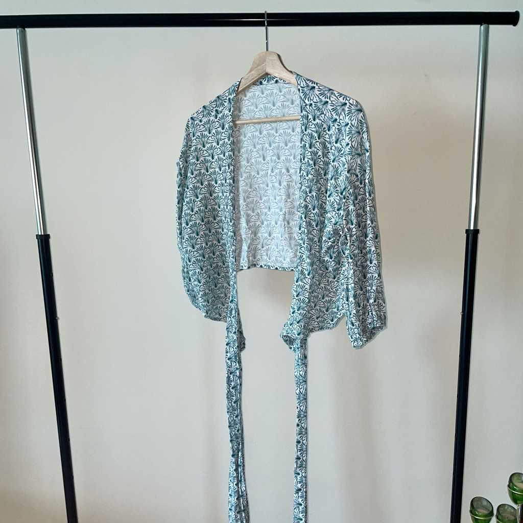 Hand made wrap blouse