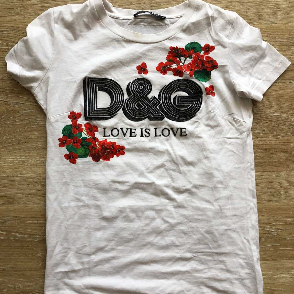 Dolce and Gabbana tshirt size 36
