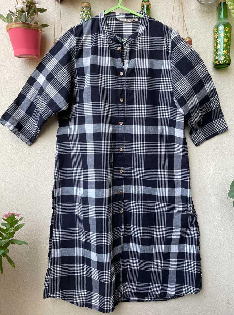 Checkerd summer dress