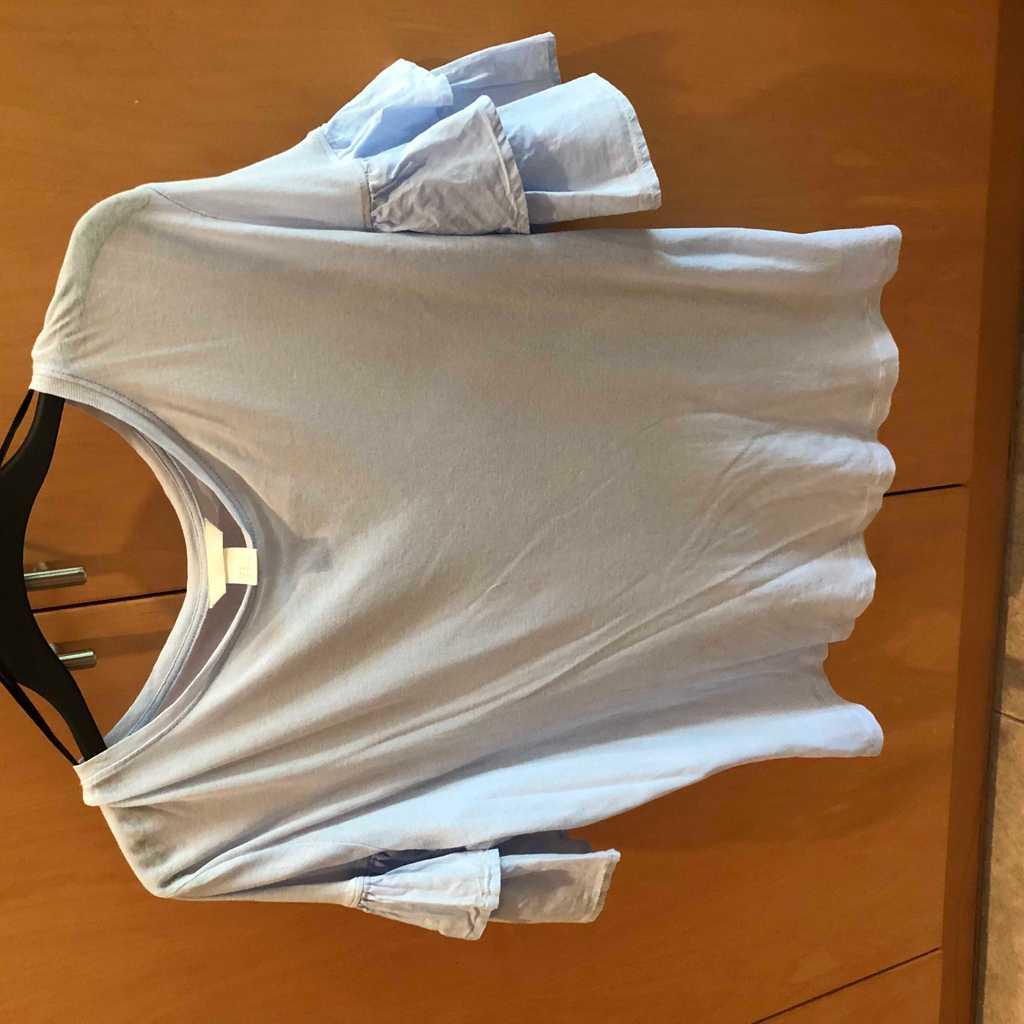 Frill Sleeve Lightweight Top