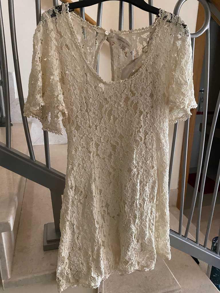 Kate Moss for Topshop Lace Mini Dress