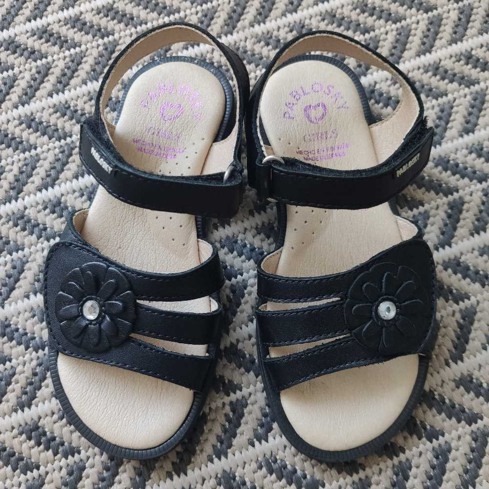 Pablosky Girls Black Sandals