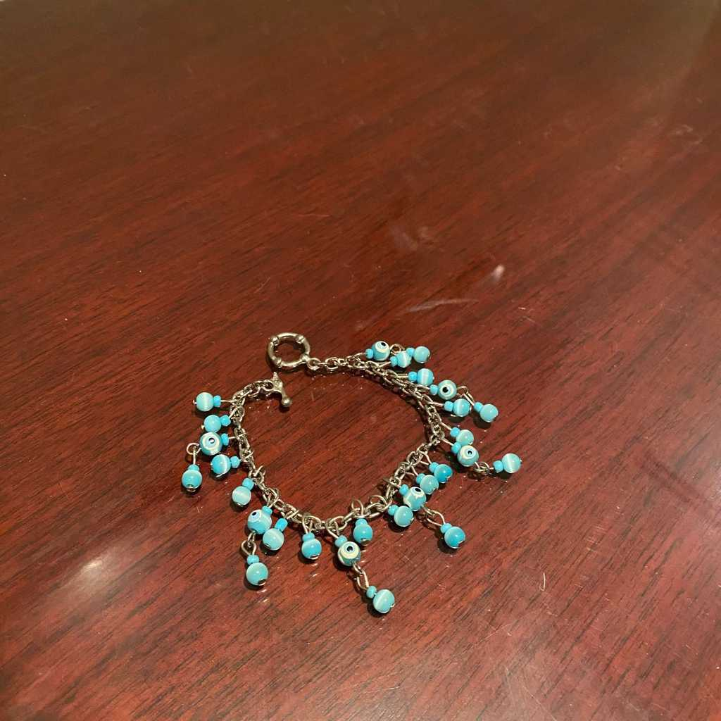 Trendy bracelet with charms