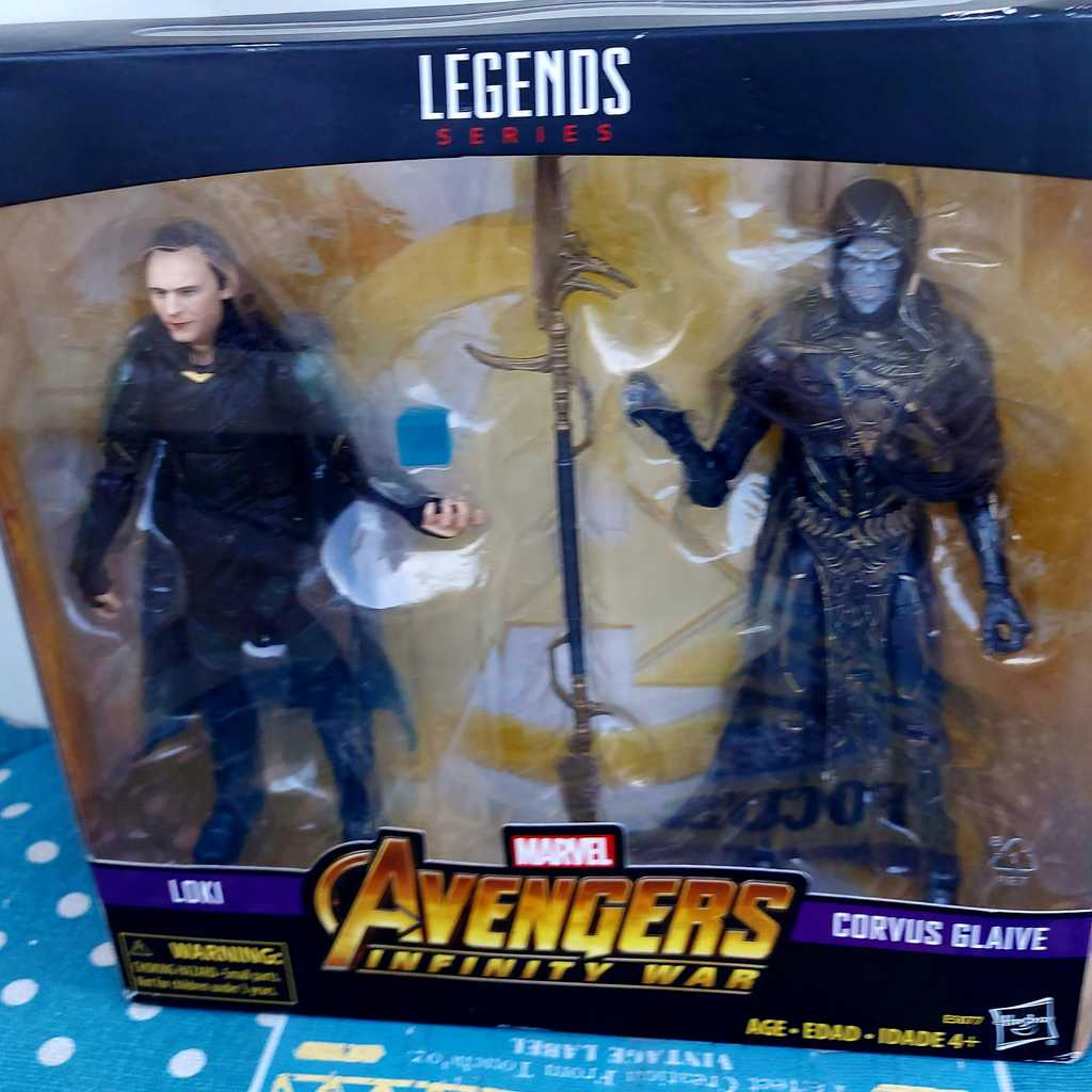 Avengers limited edition collectables.
