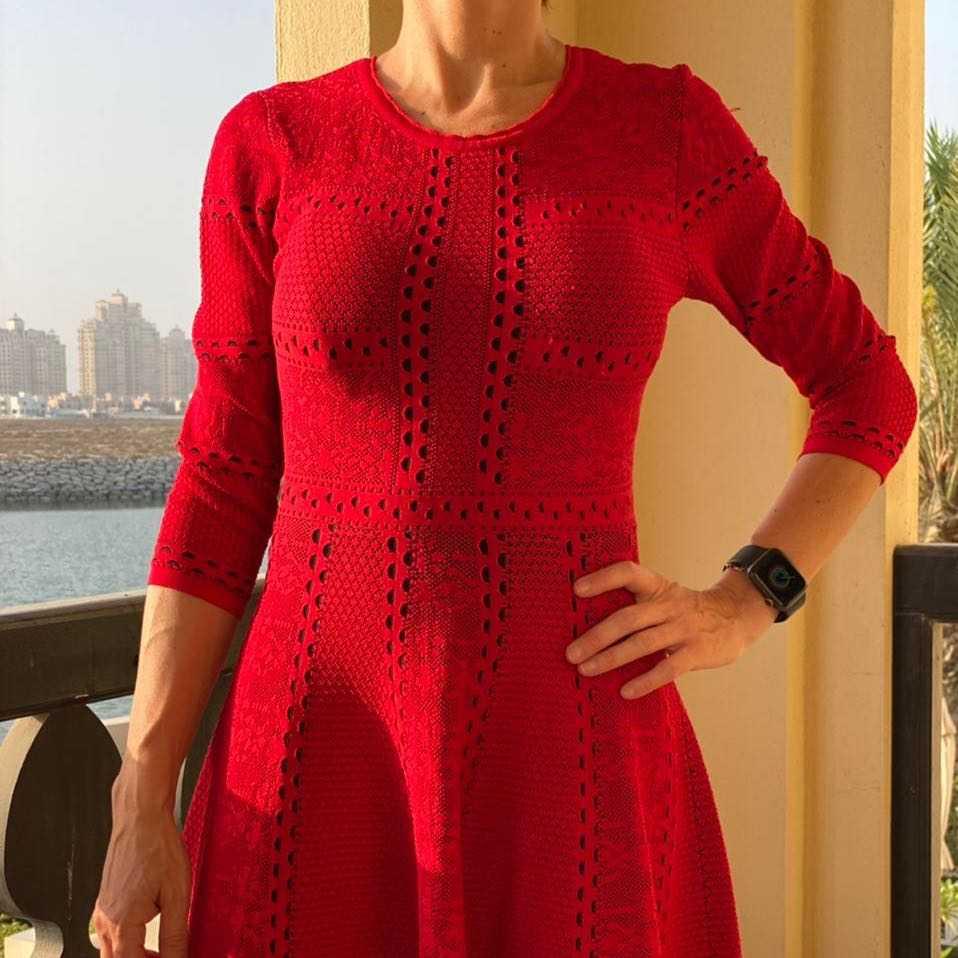 ❣️SOLD OUT❣️ ELLE Flowy Mid Dress (Size S)