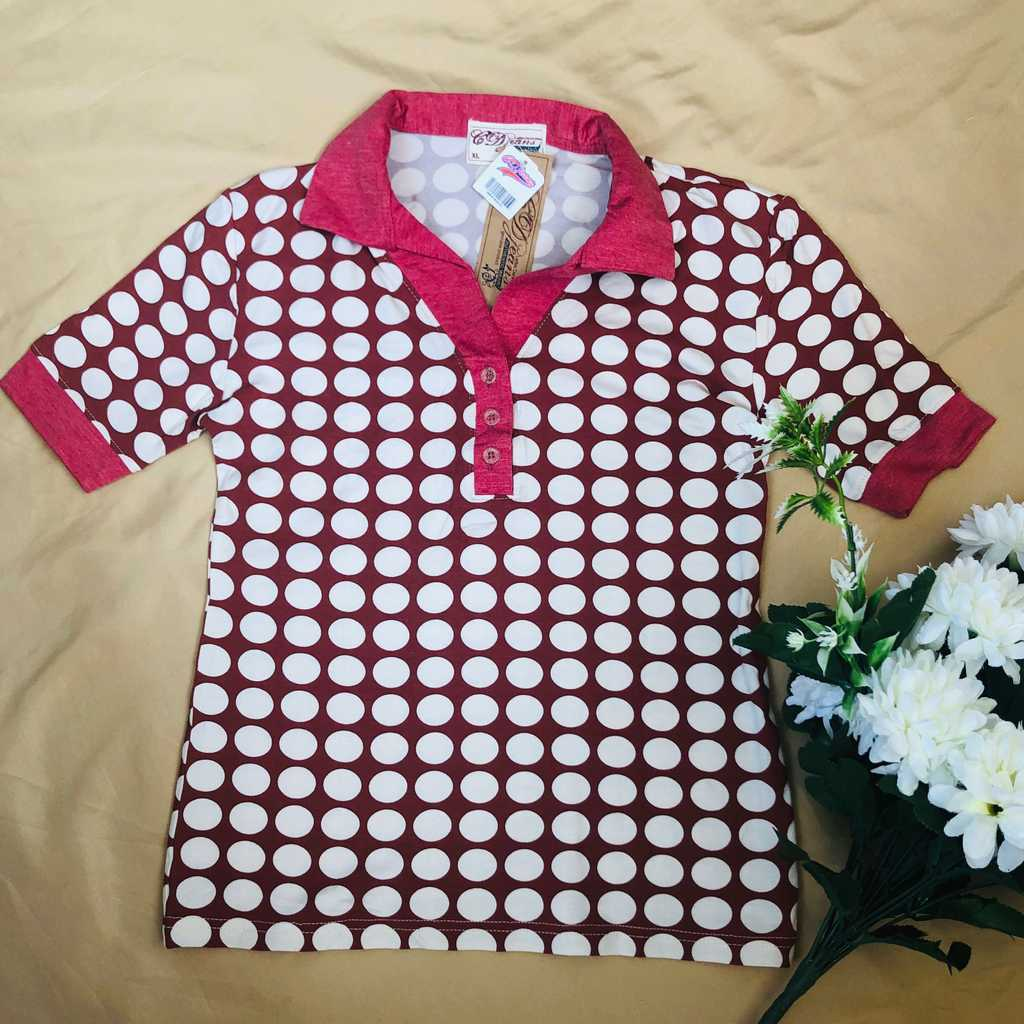 CD Jeans polka dots blouse