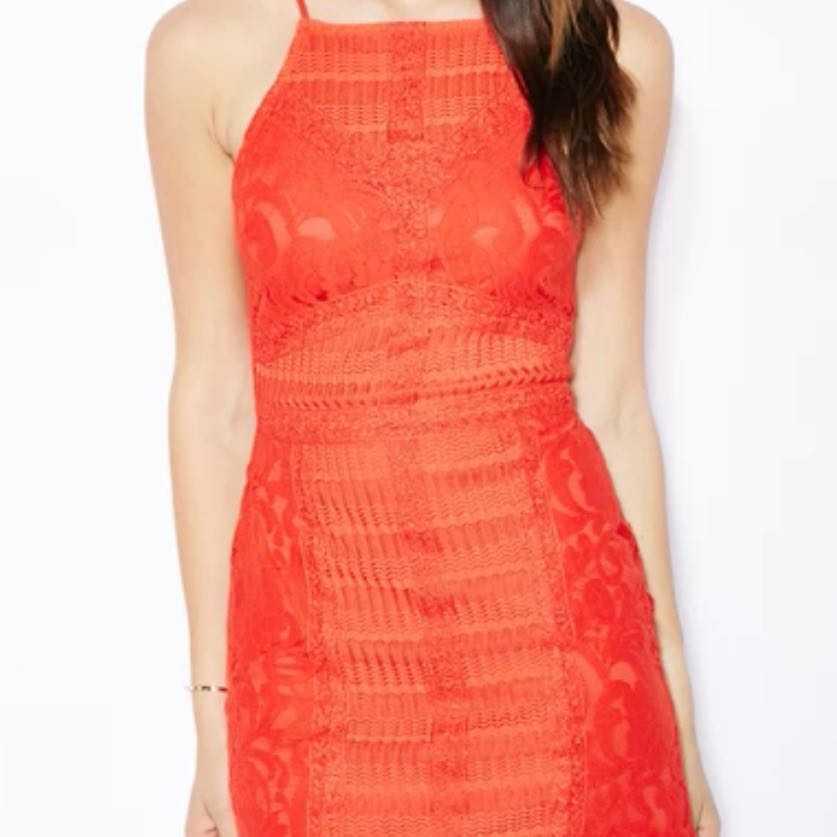 TopShop lace mini dress UK10