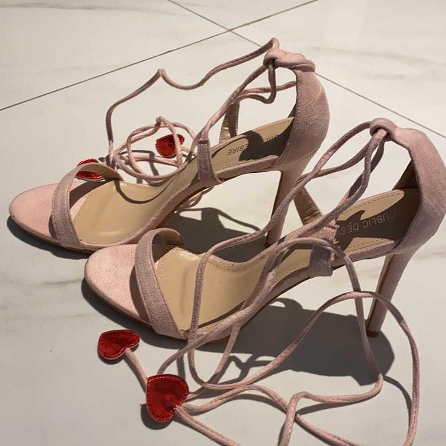 Rosé Heels 40