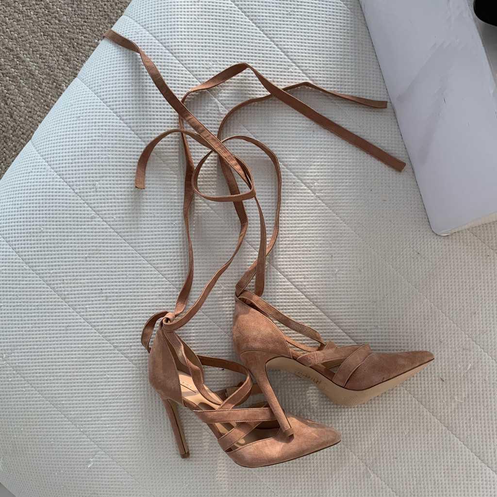 Aldo tan Swede heels. Brand new