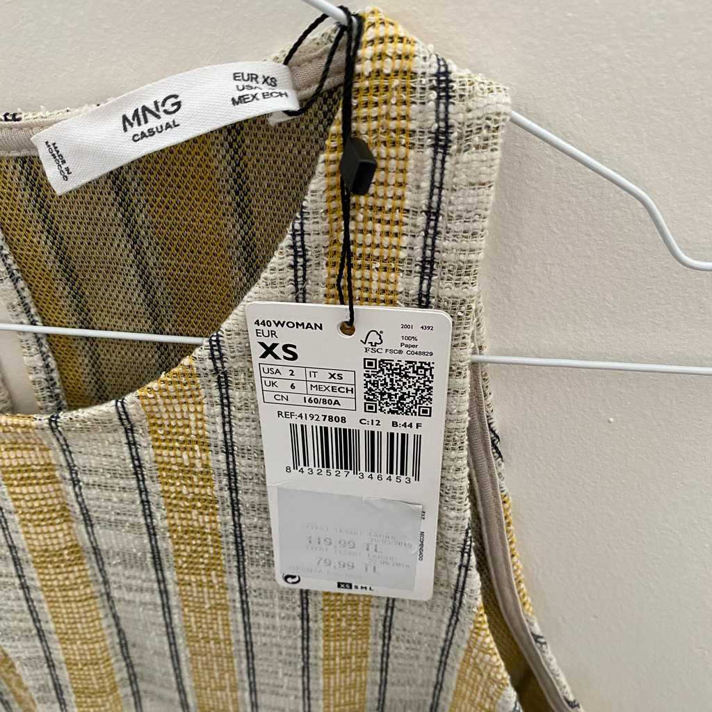 Mango XS dress