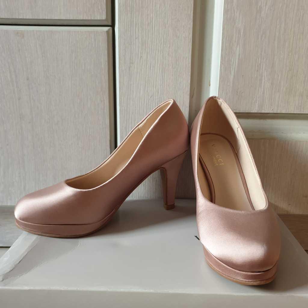 VINCCI beige heels shoes