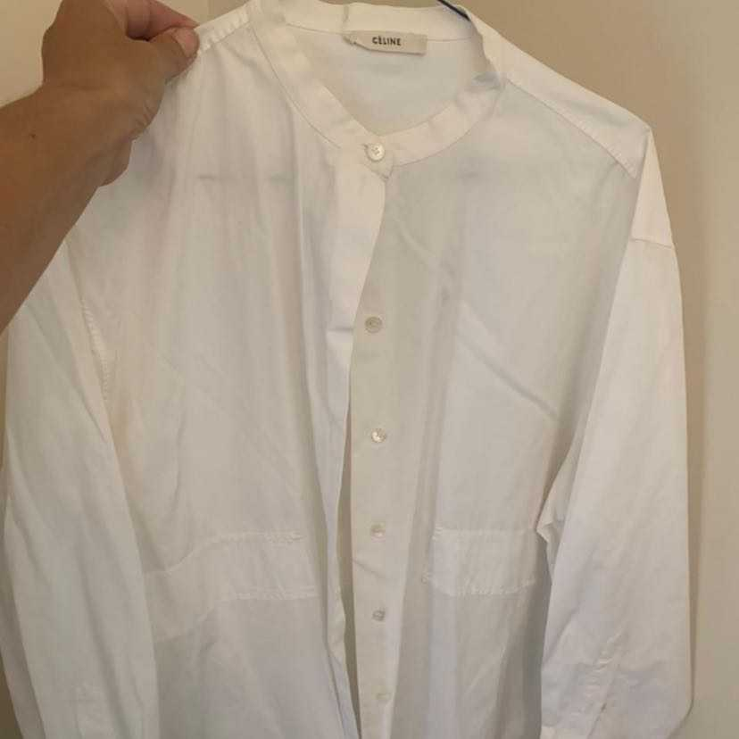Celine oversized poplin shirt